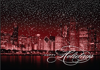 Chicago Christmas Cards